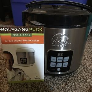 Wolfgang Puck 10 cup Multi cooker